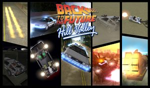 Back To The Future Hill Valley - GTA Vice City