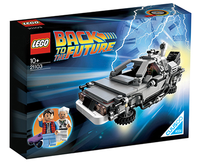 Lego Back To The Future - confezione