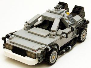 Lego Back To The Future - DeLorean