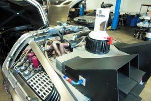 DeLorean modificata