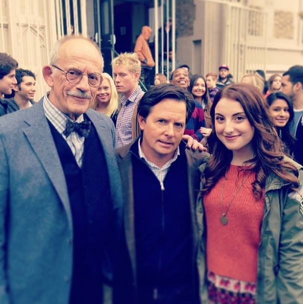 Christopher Lloyd - Michael J Fox - Juliette Goglia