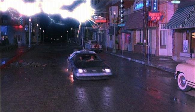 La DeLorean fulminata