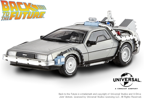 DeLorean Hot Wheels BTTF 2 1:18