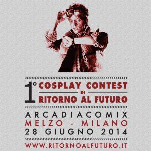 1° Cosplay Contest di Ritorno al Futuro - banner