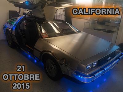 21 Ottobre 2015 - California