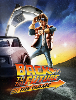 Back To The Future The Game - Locandina
