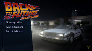 BTTF The Game - Menu