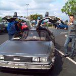io con la DeLorean