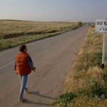 Strada per Hill Valley nel film