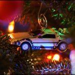 DeLorean per albero di Natale