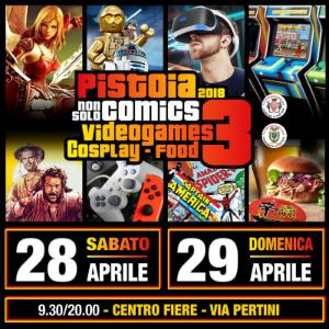 Pistoia Non Solo Comics 3 - 2018