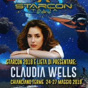 Starcon 2018 - Claudia Wells