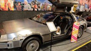 DeLorean in palio