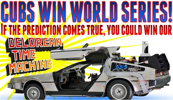Banner annuncio DeLorean