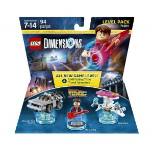 BTTF Level Pack Lego
