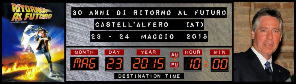 30 anni di Ritorno al Futuro - Castell'Alfero (AT)