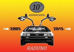 10° anniversario del primo raduno di Ritorno al Futuro e di DeLorean