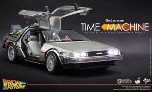 Hot Toys DeLorean Time Machine