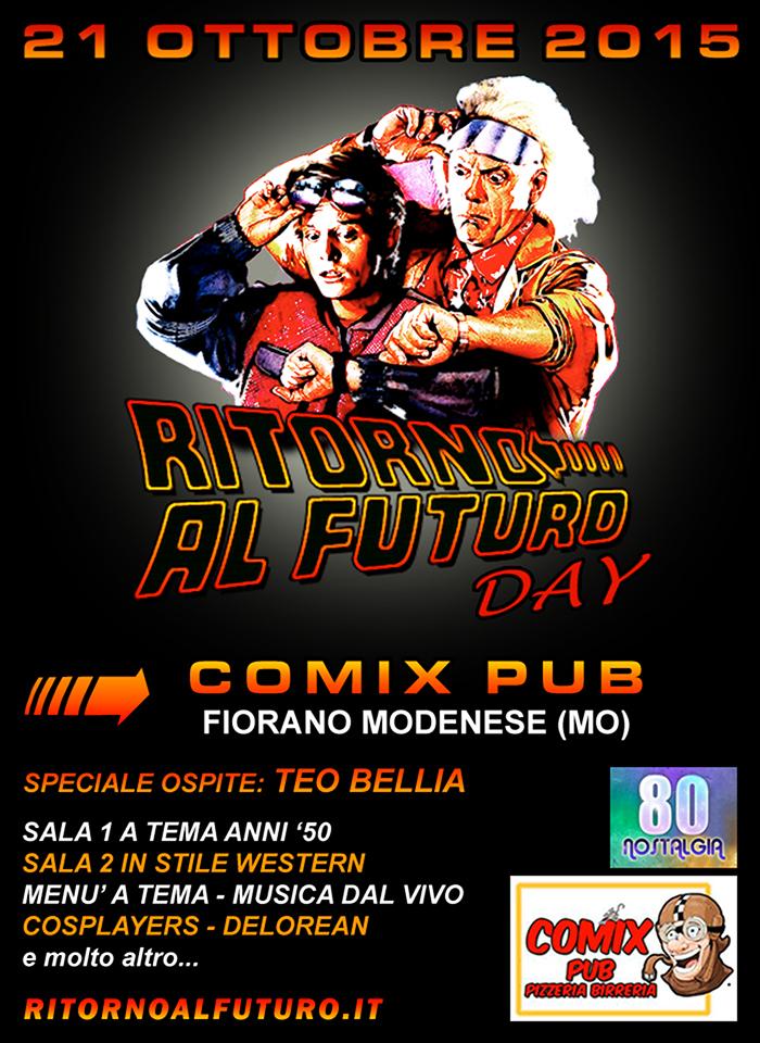 Ritorno al Futuro Day al Comix Pub