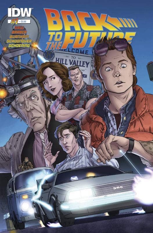 Nuovo fumetto di Ritorno al Futuro - Cover prima uscita