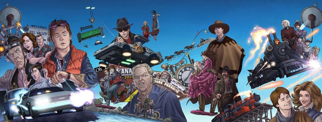 Banner nuovi fumetti di Ritorno al Futuro