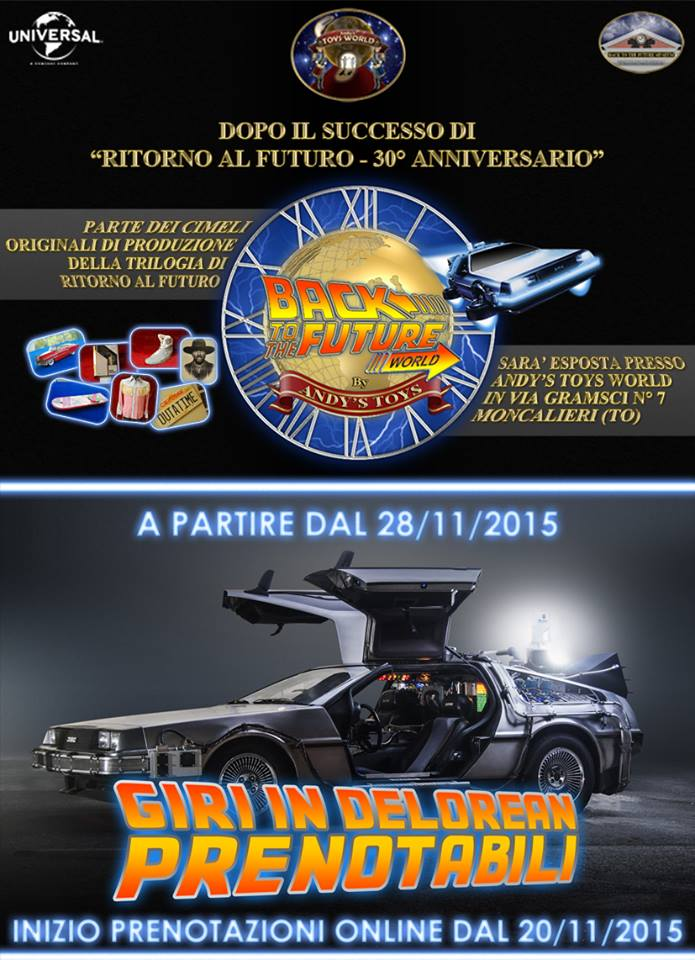 Back To The Future World - locandina