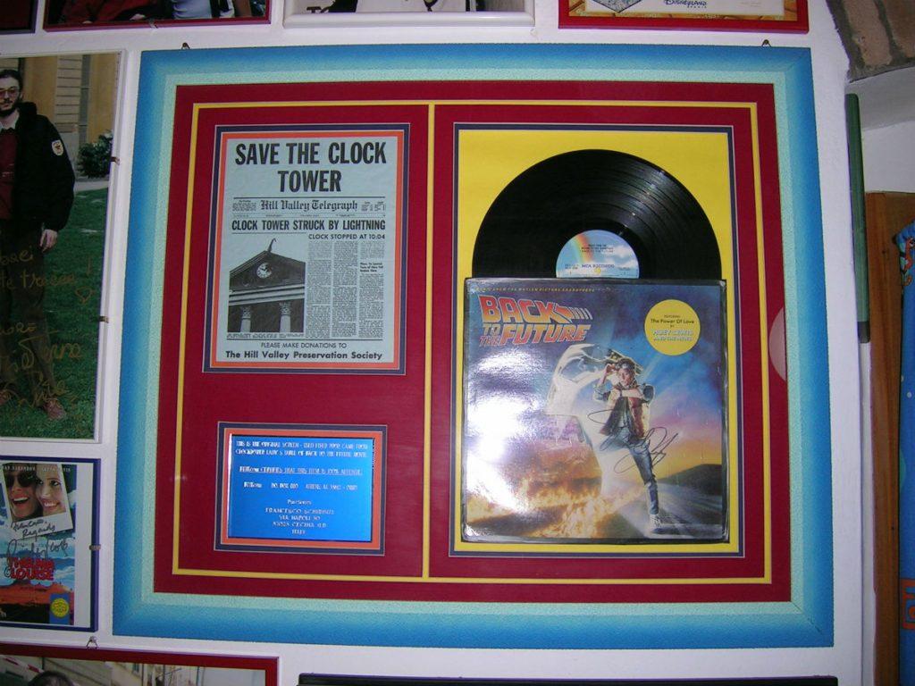 Back To The Future LP - Memorabilia