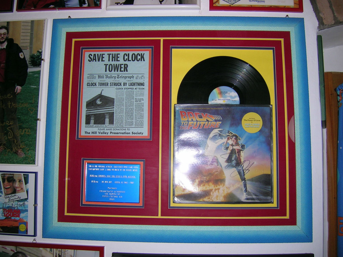 Back To The Future LP - Memorabilia