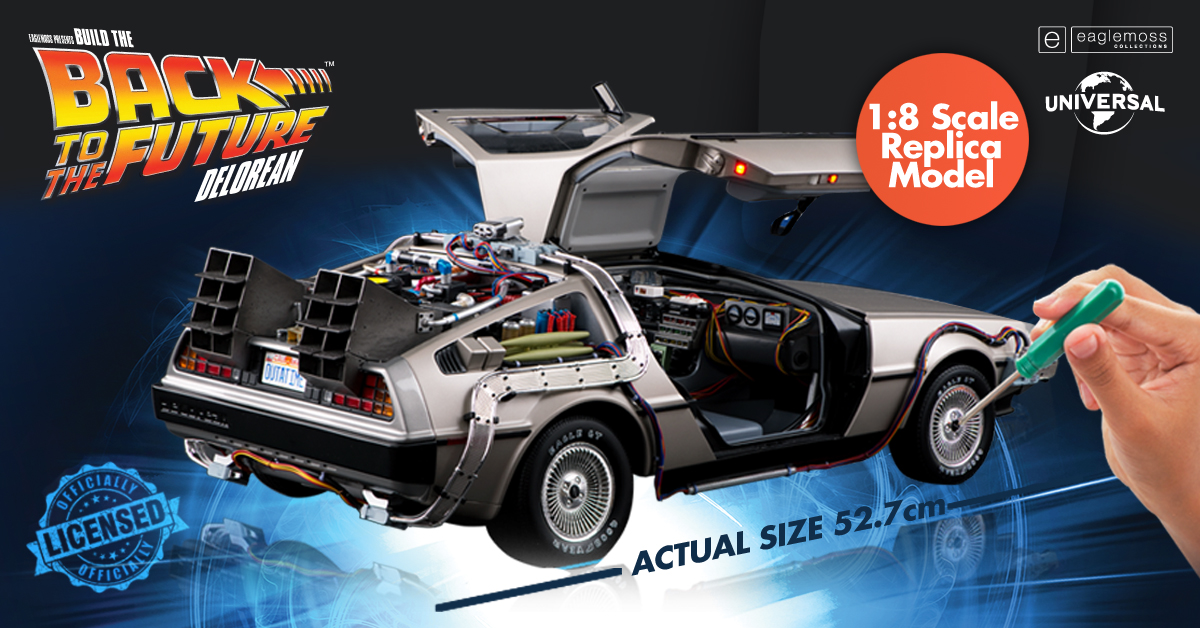 Eaglemoss - DeLorean - Ritorno al Futuro