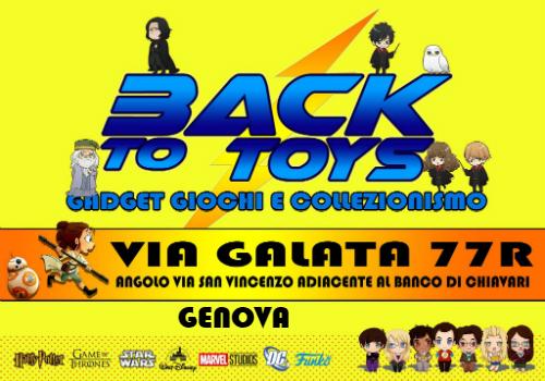 Back To Toys - Genova