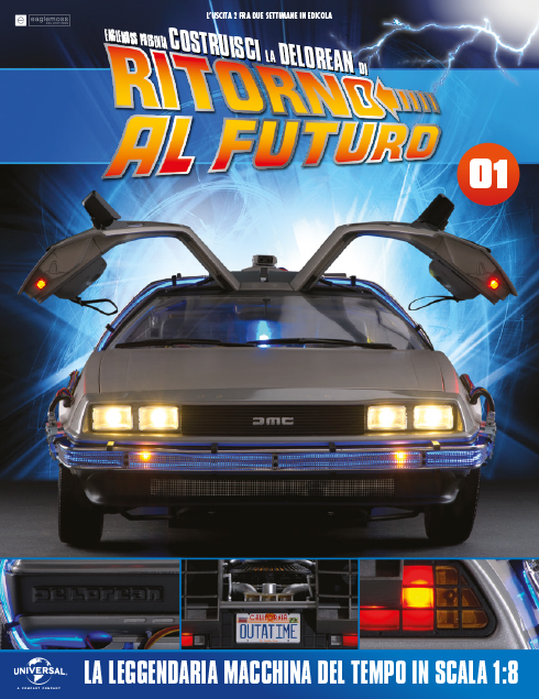 Eaglemoss - DeLorean fascicolo 1
