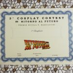 3 Cosplay Contest - attestato