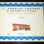1 Cosplay Contest - attestato