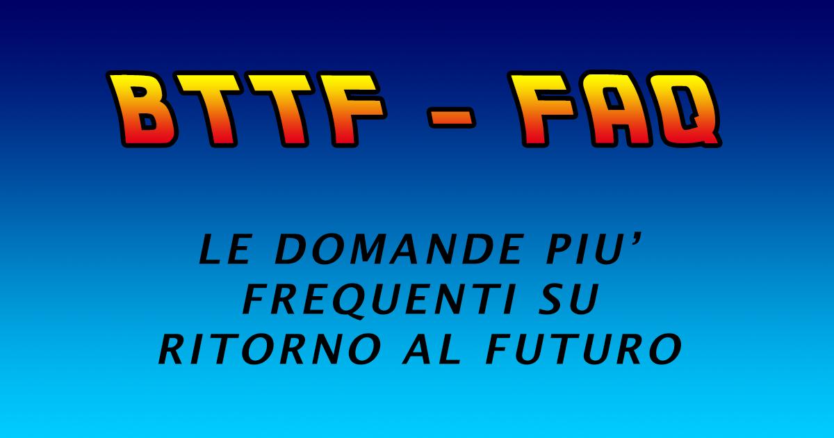 BTTF FAQ