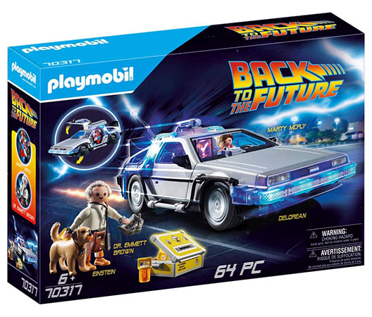 Playmobil DeLorean