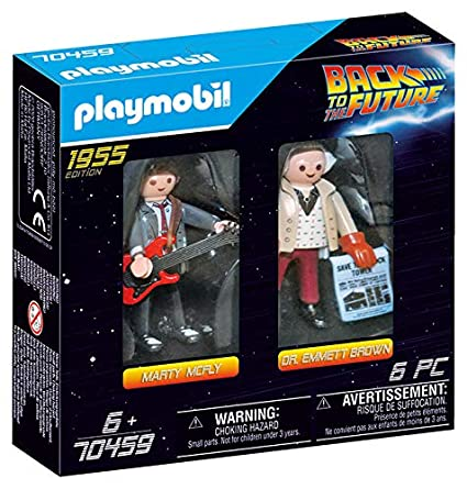 Playmobil Marty e Doc 1955