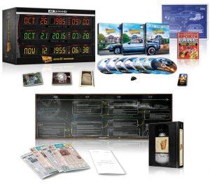 Cofanetto UK FRA Limited Collector's Edition 4K Ultra HD Ritorno al Futuro