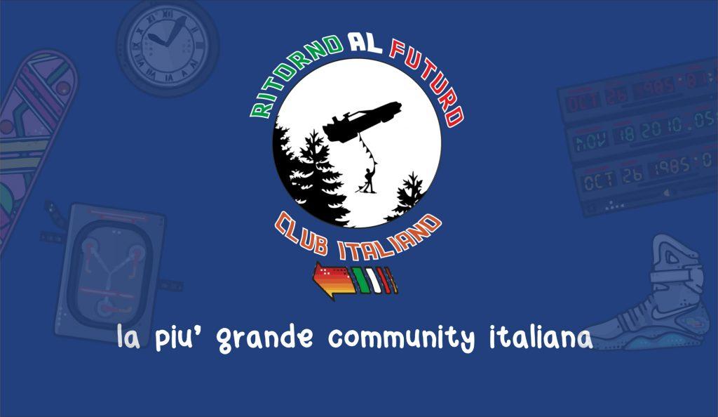 Logo banner Ritorno al Futuro Club Italiano